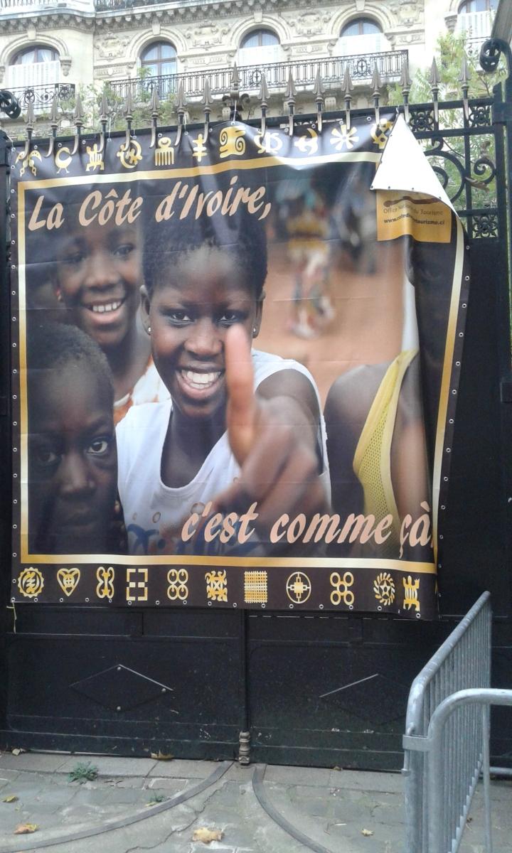 L'AMBASSADE DE CÔTE D'IVOIRE A PARIS : c'est comme ça !